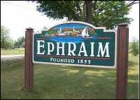 Ephraim, WI (probably not where Yeshua vacationed)