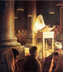 """Jesus in the Synagogue at Nazareth"" Greg Olsen"