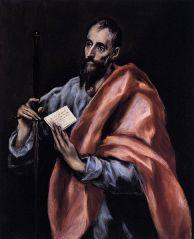 """Apostle St. Paul"" El Greco"