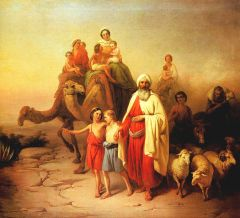 """Abraham's Journey from Ur to Canaan"" József Molnár"