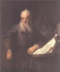"""Apostle Paul"" Rembrandt Harmenszoon van Rijn"