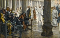 """Woe unto You, Scribes and Pharisees"" James Tissot"