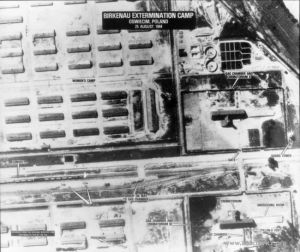 Aerial Photo of Birkenau Auschwitz-Birkenau State Museum
