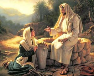 """Jesus Teaching the Woman at the Well"" TOHH Jesus Pictures"