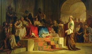 """Trial of the Apostle Paul"" Nikolas Kornilievich Bodarevsky"