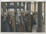 """The Chief Priests Take Counsel Together"" James Tissot"