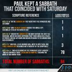 Paul and Sabbath