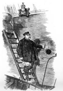 """""""Dropping the Pilot"""" Kaiser Wilhelm II Dismisses Chancellor Bismarck Sir John Tenniel, 29 March 1890"""