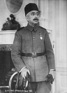 Sultan Mehmet VI Last ruler of the Ottoman Empire, 1918-1922