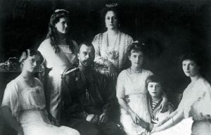 Tsar Nicholas II and Family, 1913