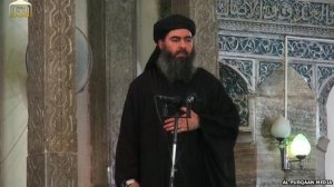Abu Bakr al-Baghdadi made his first appearance on video when he gave a sermon in Mosul on July 4, 2014.