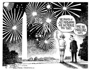 BFB140707 Fireworks