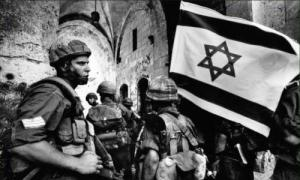 Israeli soldiers capture Jerusalem on the second day of the Six Day War.