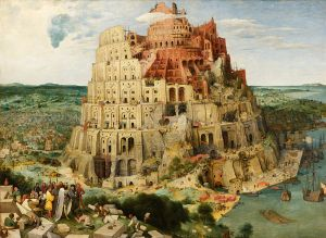 """The Tower of Babel"" Pieter Bruegel the Elder"