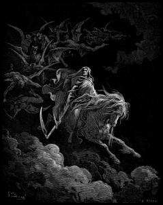 """Death on the Pale Horse"" Gustave Doré"