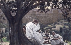 """The Prophecy of the Destruction of the Temple"" James Tissot Brooklyn Museum"