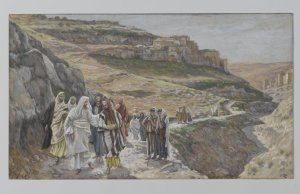 """Jesus Discourses with His Disciples"" James Tissot Brooklyn Museum"