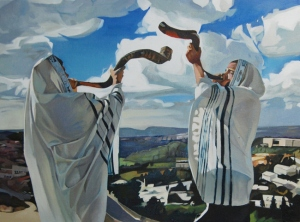 "Blowing the Shofar is the central observance of the Feast of Trumpets (Yom Teruah) is the ""Jewish New Year"" (Rosh HaShanah).  (Blowing the Shofar - The Nahmias Cipher Report.)"