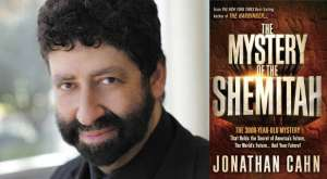Rabbi Jonathan Cahn and his bestseller, The Mystery of the Shemitah, as featured in Charismanews.
