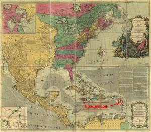 After losing the French and Indian War, France chose to trade all of Canada and Louisiana for the small island of Guadeloupe.