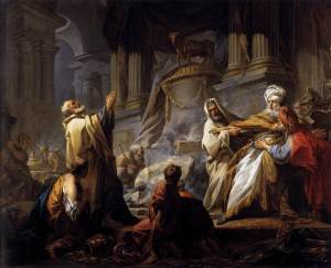 Jeroboam Offering Sacrifice for the Idol Jean-Honoré Fragonard