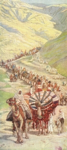 The Caravan of Abraham, by James Tissot, illustrates a point often overlooked:  the vast majority of those in Abraham's household who participated in the covenant God made with him were not his blood relatives.    This principle remains true to this day, when the seed of Abraham have indeed become as numerous as the stars.