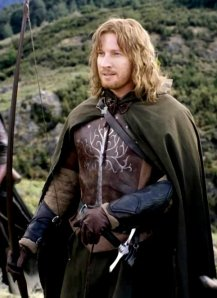 By remaining faithful to the true king, Faramir son of Denethor completed the centuries-long task of the Stewards of Gondor.  The king rewarded him with the title Prince of Ithilien.  (David Wenham as Faramir in the 2002 New Line Cinema production of The Lord of The Rings:  The Two Towers.  Accessed on lotr.wikia.com)