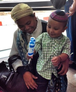 This mother and son are among 2,000 members of the Bnei Menashe who have made Aliyah from India to Israel.  Since the tribe of Manasseh were among the first exiles of the Northern Kingdom, it is only fitting that their descendants become the first to return.  (Photo:  Shavei Israel, November 3, 2014)
