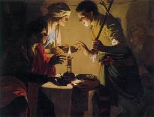 Hendrick ter Brugghen, Esau Selling His Birthright.