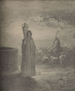 Jacob Tending the Flocks of Laban Gustave Doré