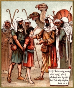 Joseph Sold Into Egypt, The Coloured Picture Bible for Children (available on Mannkind Perspectives)
