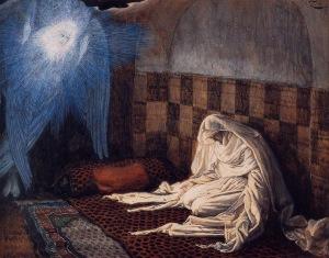 The Annunciation James Tissot