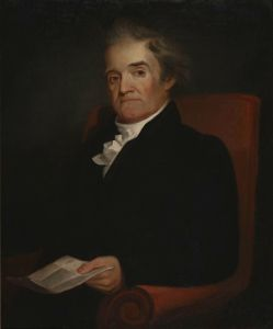 Noah Webster Portrait by Samuel F.B. Morse