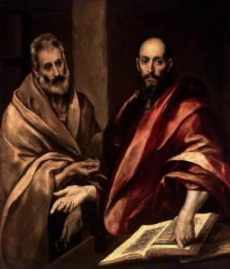 Apostles Peter and Paul El Greco