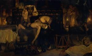 Death of the Pharaoh's Firstborn Son Sir Lawrence Alma-Tedema