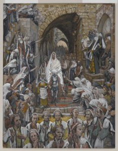 The Procession in the Streets of Jerusalem James Tissot