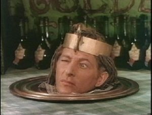 "Danny Kaye as the head of an ""Egyptian Prince"" selling Yakov's Golden Elixir in the 1949 film The Inspector General.  From ""20 Best Films of the 1940s"", Mubi.com.  The entire unforgettable scene is available on YouTube at https://www.youtube.com/watch?v=m1yM2babqZs."