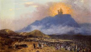 Moses on Mount Sinai Jean-Léon Gérôme