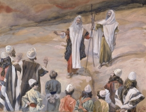 Moses Forbids the People to Follow Him James Tissot