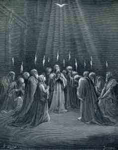 The Descent of the Spirit Gustave Doré