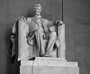 """In June 1858, at his nomination as candidate for the Senate from Illinois, Abraham Lincoln invoked the words of Yeshua in admonition to his fractured nation that """"A house divided against itself cannot stand.""""  His warning is one that followers of Yeshua should heed.  (Photo:  Gregory F. Maxwell, via Wikimedia Commons.)"""