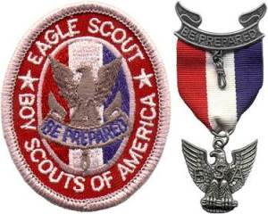 Eagle Scout Badge and Medal (Source:  SageVenture.com)