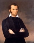 Portrait of James Bowie George Peter Alexander Healy