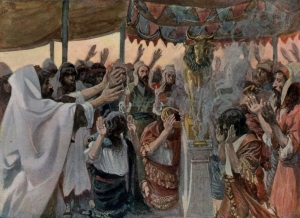 The Golden Calf James Tissot