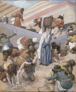 The Gathering of the Manna James Tissot