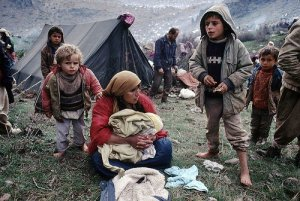 Refugees in Iraqi Kurdistan.  (Photo:  Kurdistanonline via Rudaw.net)