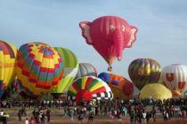 140103 Pink Elephant Balloon