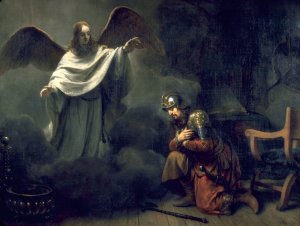 As the Apostle Peter testified, the vision he received in Acts 10 was not about food, but about God opening the way for non-Jews to receive the salvation He offered through Messiah Yeshua.  His vision, in fact, was the counterpart to the vision Cornelius the Centurion of an angel instructing him to seek out Peter.  (Vision of Cornelius the Centurion by Gerbrand van den Eeckhout)