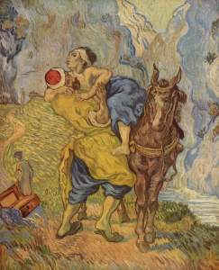 The Good Samaritan (after Delacroix) Vincent van Gogh