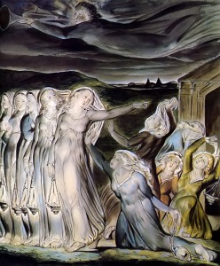 Yeshua's parable of the Ten Virgins speaks not only of His return at the end of this age, but of how His Bride should conduct herself in holiness to the Lord.   (The Wise and Foolish Virgins, by William Blake)